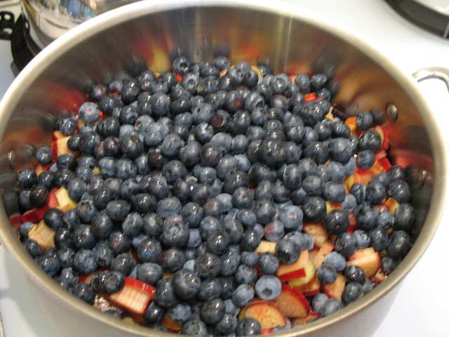 blueberry-rhubarb syrup & jam | Recipes and Reviews